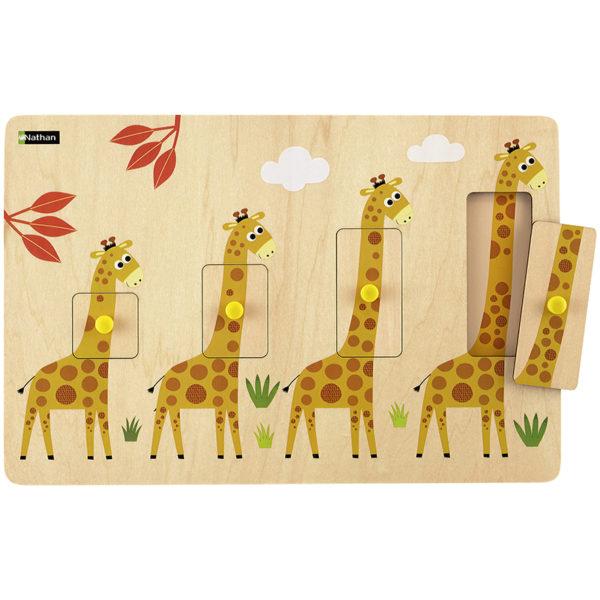 puzzle - Żyrafy