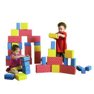 cegiełki do układania zabawa