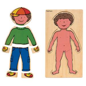 puzzle - chłopiec
