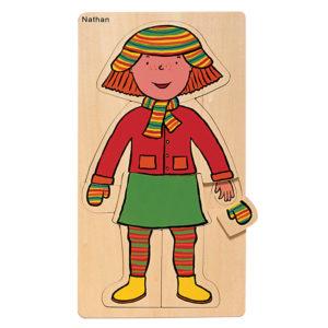 puzzle - dziewczynka
