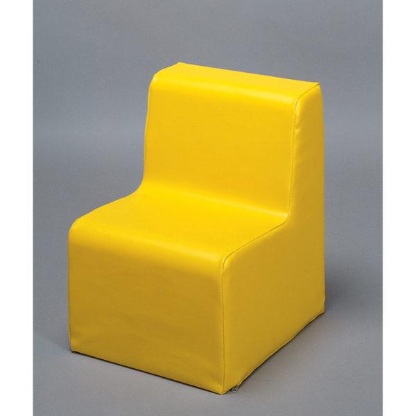 fotelik - żółty