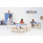 krzesełka dla dzieci model 1 - Clorofile - w przedszkolu