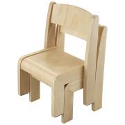 krzesełka dla dzieci model 0 - Clorofile - składane w stosie
