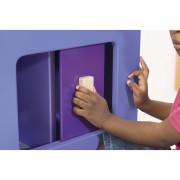 szafka wielofunkcyjna Vitamine - drzwi przesuwne, zabezpieczenie przed przycięciem palców