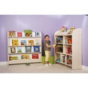 Maxi biblioteczka MobiNathan - oddzielne elementy - w przedszkolu