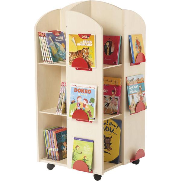Wieża na książki - Brzoza - w przedszkolu
