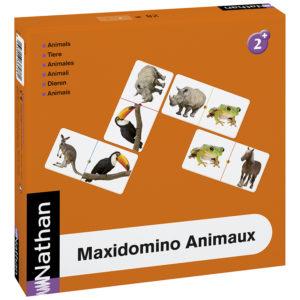 maxidomino - zwierzęta - opakowanie