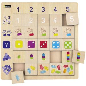 puzzle logiczne - cyferki
