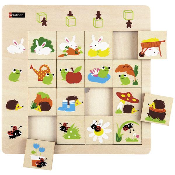 puzzle logiczne - orientacja przestrzenna