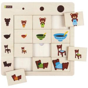 puzzle logiczne - rozmiary