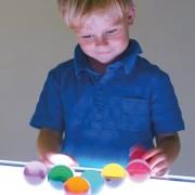 akrylowe sfery - pod światło