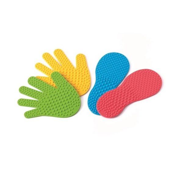 tropy sensoryczne  - stopy i ręce