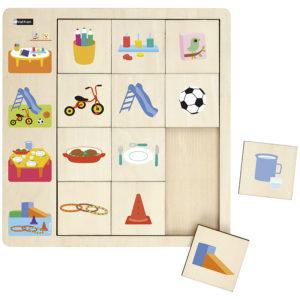 puzzle obserwacyjne - w przedszkolu