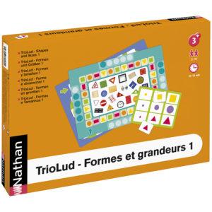 TrioLud - kształty i wielkości 1 - opakowanie