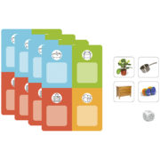 TrioLud - słownictwo 1 - gra w lotto - przedmioty domowe