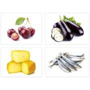karty obrazkowe - żywność