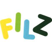 literki filcowe - zoom