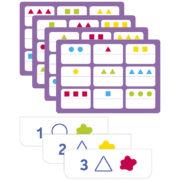 TrioLud - kształty i wielkości 2 - gra w lotto