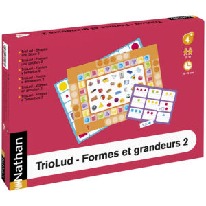 TrioLud - kształty i wielkości 2 - opakowanie