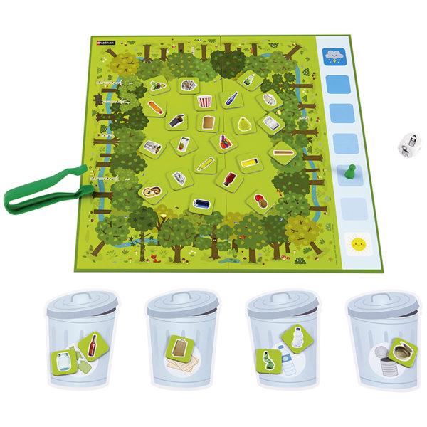 misja czysty las - plansza i karty