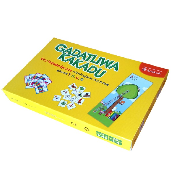 GADATLIWA KAKADU – gry logopedyczne