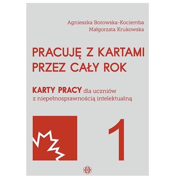PRACUJĘ Z KARTAMI PRZEZ CAŁY ROK – część 1 Wydawnictwo Harmonia