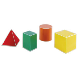 bryły geometryczne 2D 3D