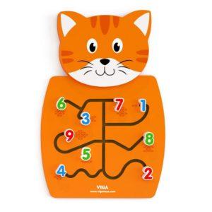 panel sensoryczny kotek