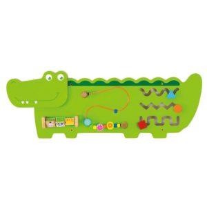 panel sensoryczny krokodyl