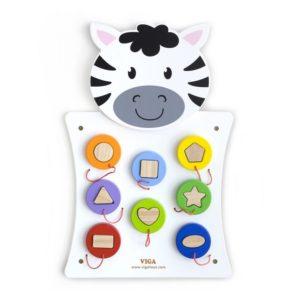 panel sensoryczny zebra