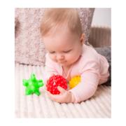 piłki sensoryczne 3 szt - zabawa