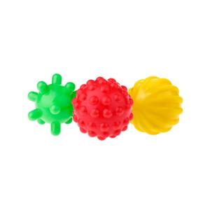 piłki sensoryczne 3 szt - zestaw 1
