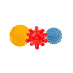 piłki sensoryczne 3 szt - zestaw 2