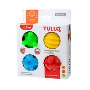 piłki sensoryczne 4 szt - opakowanie
