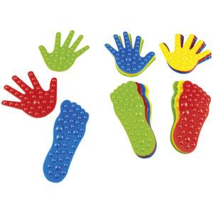 tropy sensoryczne - stopy i ręce - 16 szt