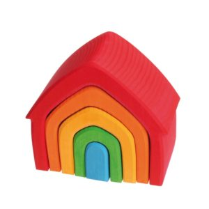 dom kolorowy 5 elementów Grimm's