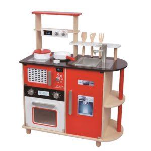 kuchnia drewniana nowoczesna