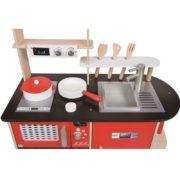 kuchnia drewniana nowoczesna - zoom