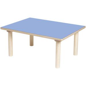 stół prostokątny - Clorofile - kolor niebieski
