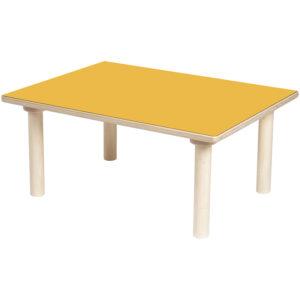 stół prostokątny - Clorofile - kolor pomarańczowy