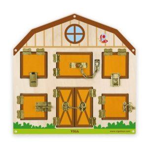 panel ścienny - stodoła z zamknięciami