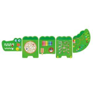 panel sensoryczny wall game - krokodyl