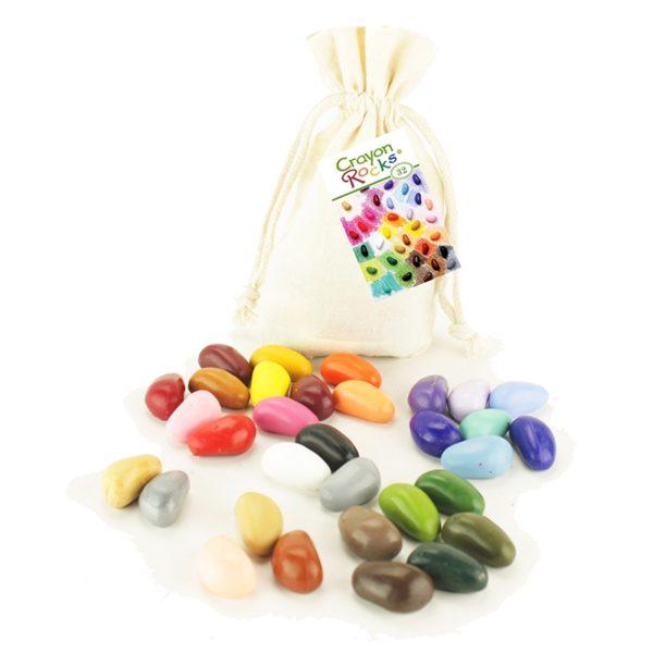kredki Crayon Rocks - 32 kolory - opakowanie bawełniany woreczek