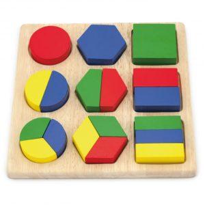 ukladanka - wzory geometryczne