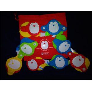 pingwinki z zapięcami - 4 szt