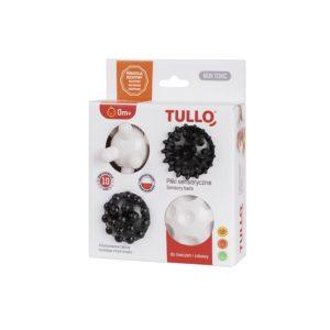 Piłki sensoryczne czarno-białe 4 szt - opakowanie