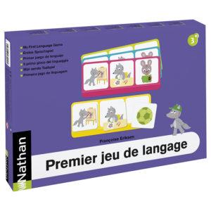 pierwsza gra językowa - opakowanie