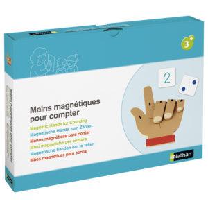 magnetyczne palce do nauki liczenia - opakowanie