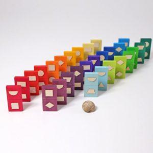 domino geometryczne Grimm's