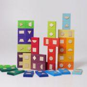 domino geometryczne Grimm's - zabawa 2